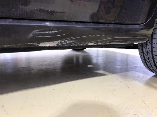 スズキ MRワゴン ステップ傷修理