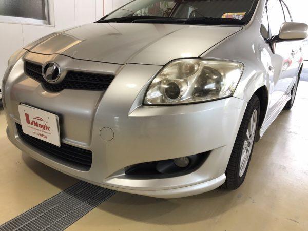 トヨタ オーリス フロントフェンダー交換