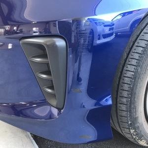 ホンダ フリードHV フロント、リアバンパーキズ修理
