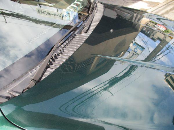 ダイハツ ミラジーノのボンネット塗装はげ修復